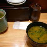 まぐろ一代 - あおさの味噌汁・2014/8