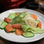 馬力屋 - 野菜サラダ☆