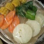 バーベキュービレッジ - 野菜盛り合わせ