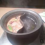 しゃぶしゃぶ温野菜 - 蒙古炎鍋と昆布だし