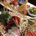 魚菜おもてなし 北河 - 料理写真:刺身盛り合わせ