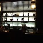 珈琲艇キャビン - カウンターのオブジェも素敵です♥︎