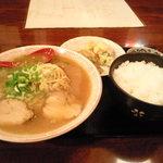 まんぷく亭 - 料理写真:ラーメン定食