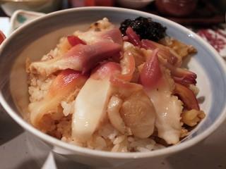 魚貝料理 松平 - ほっき飯