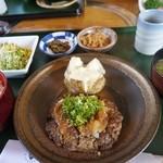 レストラン岡崎 - 和風ハンバーグ定食1512円