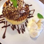 Astiy - コーヒーキャラメルバナナパンケーキ
