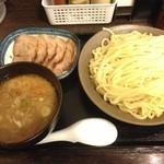 30514778 - 大判チャーシュー つけ麺 大盛り(600g)
