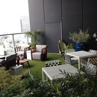 【地上60mのテラス席】東京を見下ろす絶景の特別空間!!