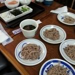 Izushisarasobahanamizuki - 皿蕎麦