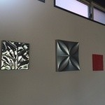 カフェ ド シュウ - 壁にはアート(2014.9.8)