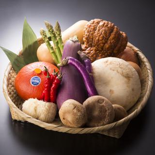 焼き野菜は伝統野菜にこだわる