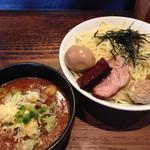 ちいおり - 冷辛つけ麺特900円