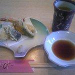 たから洲 - 天ぷらセットの天ぷら