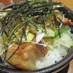 麺屋 空海 - 角煮丼\380