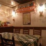 ピッツェリア ラポルタ - テーブル席