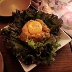 トムボーイ - 卵黄サーモンのカチーラ