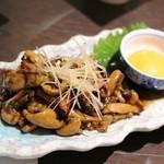 割烹蒲焼八十八 - 鰻の肝の炒り煮