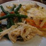 チムニー・ギオット - 食べ放題の料理