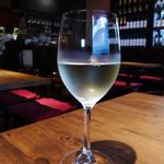 イタリアンBambu - ランチ付属のドリンクに、グラスワイン(白)選択