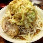 らーめん 福たけ - フク郎(野菜・アブラ増し)!(2014,9/3)