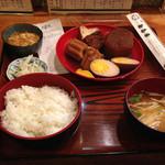 お多幸 浦和店 - おでん定食650円