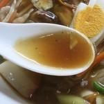 30525845 - 広東めんのスープ