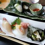 安心食堂 潮彩 - 握り寿司(花)