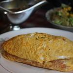 レストラン とまと - トロトロ卵のオムレツセット