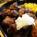 みさき食堂 - 2014.08_サガリサイコロコンボ(1275円)サガリサイコロ