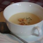 レストラン とまと - トロトロ卵のオムレツセット(スープ)