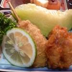 日本料理 岡崎 - フライとフルーツ