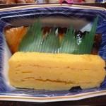 日本料理 岡崎 - ぶりの照り焼きに玉子焼き