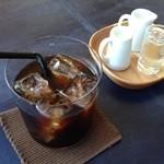 椿サロン - ウエルカムドリンクのアイスコーヒー