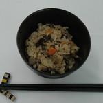 じねんじょうまつり - 料理写真:「山子ごはん」(500円)