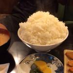 30530222 - チーズハンバーグ定食のご飯。通常