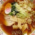 インター食堂 - ラーメンと生姜焼きセット