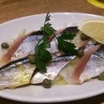 30533833 - スモーク秋刀魚のカルパッチョ490円