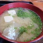 30534653 - 味噌汁 高松屋 2014/9/9