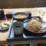 江戸前蕎麦 薫庵 - 日替りランチ、ざるそばと鰻玉丼850円