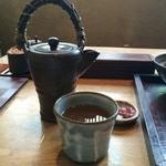 江戸前蕎麦 薫庵 - 神戸でいただく蕎麦湯としては、こってり目