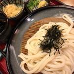 杵屋 - 杵屋のざるうどん(505円+税)2014年9月