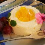 珈琲店 北地蔵 - レアチーズケーキ