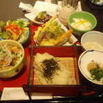 うどん 彩蔵 - ランチセット 1180円