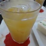 グランマーズカフェ - リンゴジュース