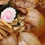 ひらの食堂 - 大盛りチャーシューメン
