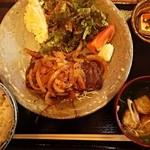 さかな家 - ランチ キン肉マン定食