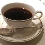 開晴亭 - コーヒーです