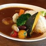 木のいいなかま - 今月の野菜カレー 1000円