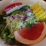 木のいいなかま - カレーに付いてるサラダ