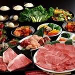 大阪焼肉 鶴橋 牛一 - 牛一和牛宴会コース